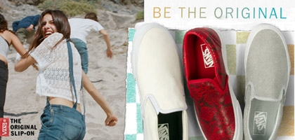 Zapatillas Vans Slip-On: ¡La nueva sensación de esta temporada!