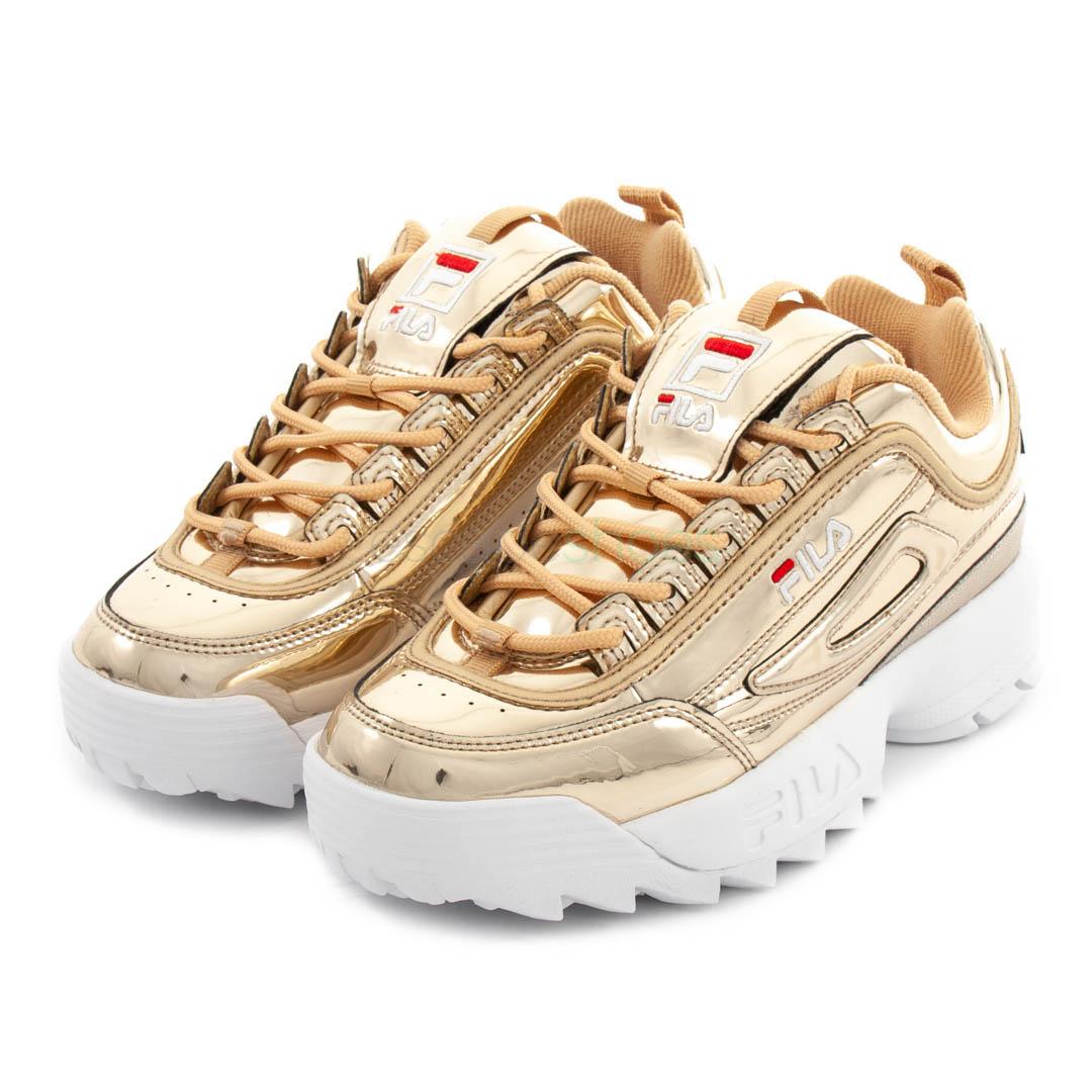 Low Sneakers M Fila Disruptor Gold f6gv7ymIYb