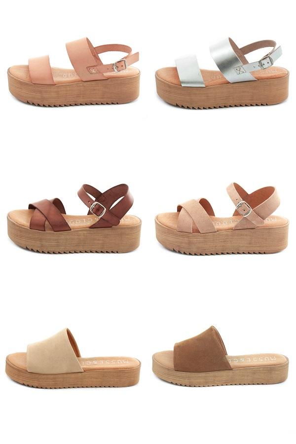 Musse & Cloud Platform Sandals
