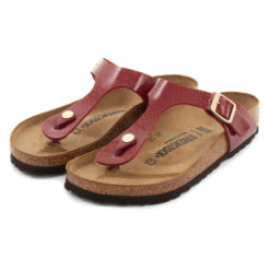 Sandalias BIRKENSTOCK Gizeh Magic Snake Burdeos