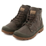 Botas PALLADIUM Pallabrouse Wax Castanhas