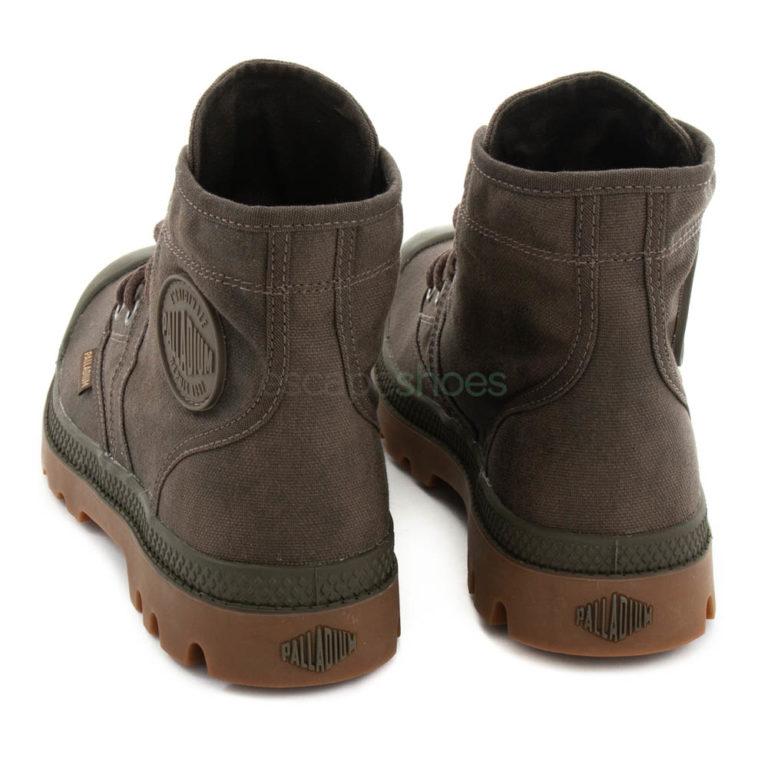 Boots PALLADIUM Pallabrouse Wax Major Brown