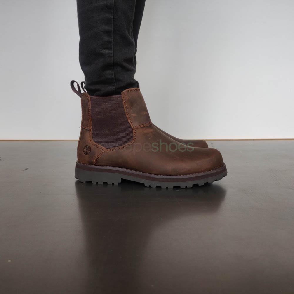Códigos promocionales último descuento completamente elegante Boots TIMBERLAND Courma Kid Chelsea Glazed Ginger