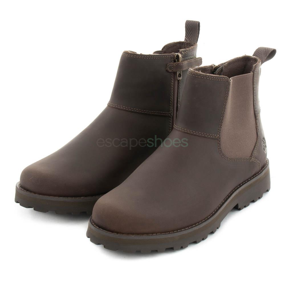 Descartar Persona especial Santuario  Boots TIMBERLAND Courma Kid Chelsea Brindle