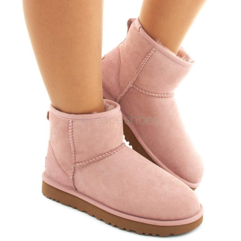 Boots UGG Australia Classic Mini II Pink Crystal