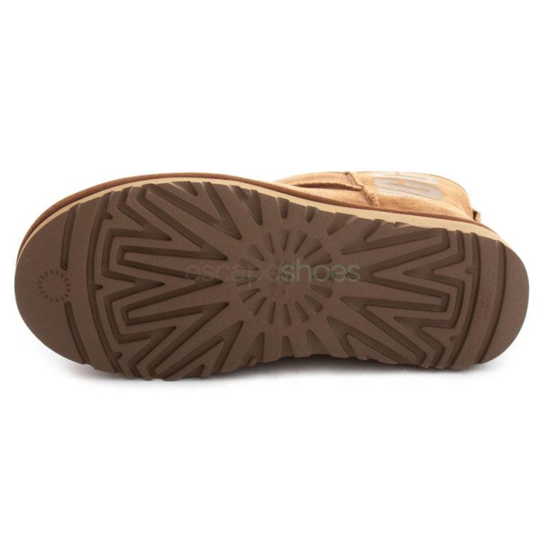 Boots UGG Australia Classic Mini Rubber Logo Chestnut