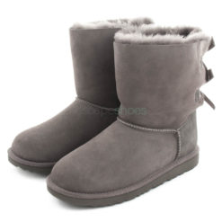 Boots UGG Australia Kids Bailey Bow II Grey