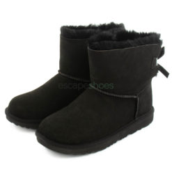 Botas UGG Australia Kids Mini Bailey Bow II Pretas