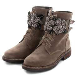 Ankle Boots ALMA EN PENA Crosta Flowers Taupe