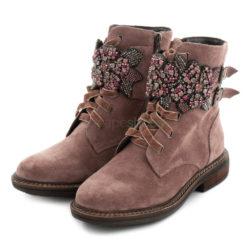 Ankle Boots ALMA EN PENA Crosta Flowers Purple