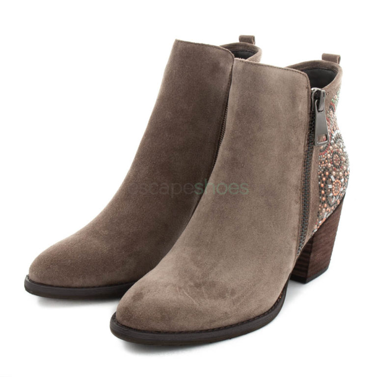 Ankle Boots ALMA EN PENA Crosta Beads Taupe