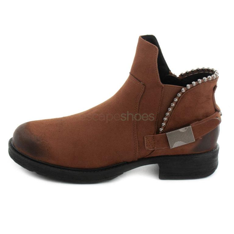 Ankle Boots FRANCESCOMILANO Studs Testa di Moro