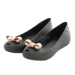 Bailarinas MELISSA Ultragirl Bow Chrome Negras