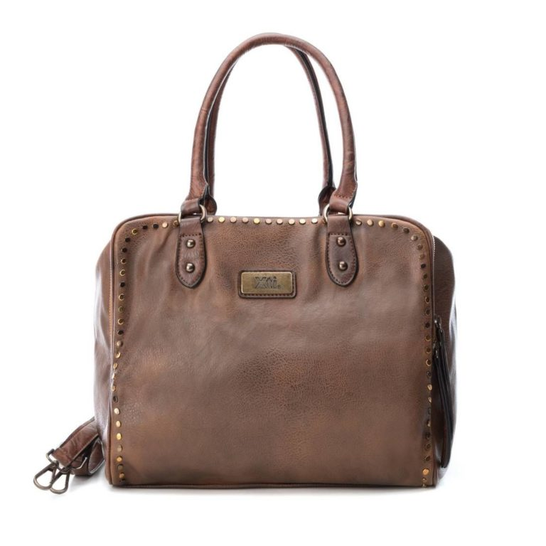 Bag XTI Otra Leather Camel