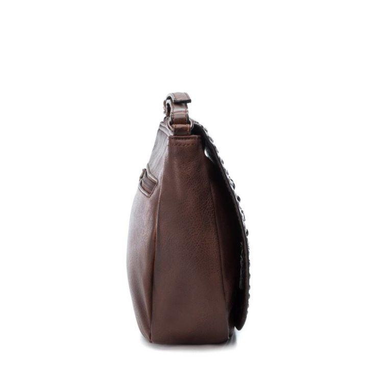 Bag XTI Otra Studs Flower Brown