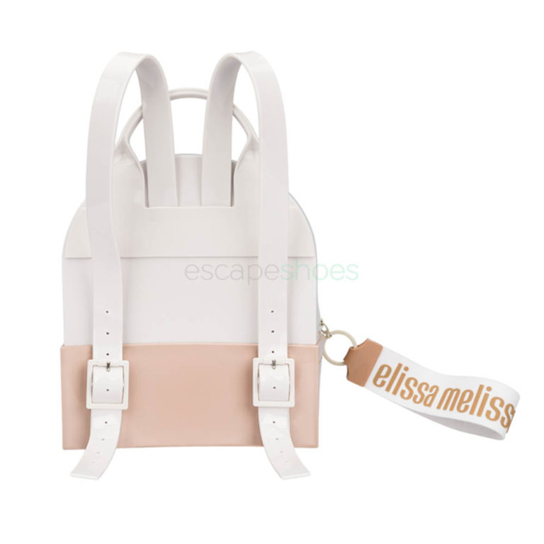Backpack MELISSA Essential White Pink
