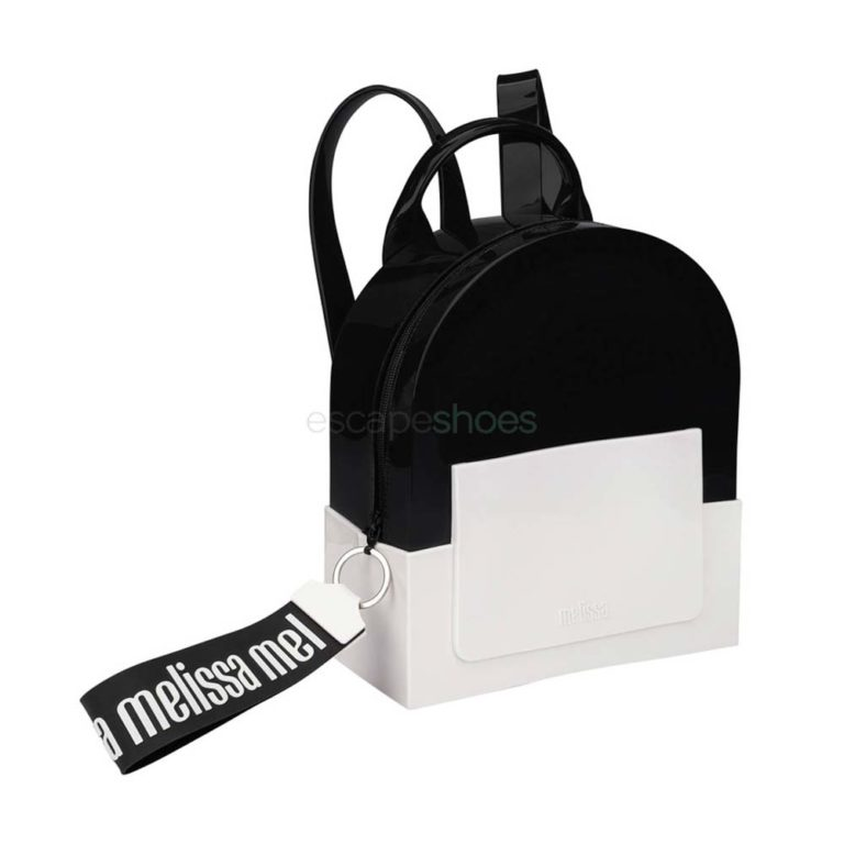 Backpack MELISSA Essential Black White