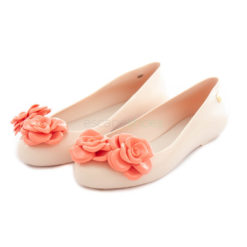 Bailarinas MELISSA Space Love Flower Blancas