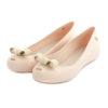Flat Shoes MELISSA Ultragirl Bow Chrome White