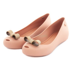 Bailarinas MELISSA Ultragirl Bow Chrome Nude