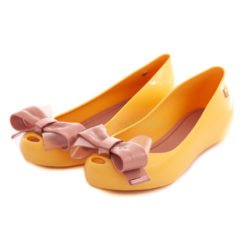 Flat Shoes MELISSA Ultragirl Sweet XVII Yellow