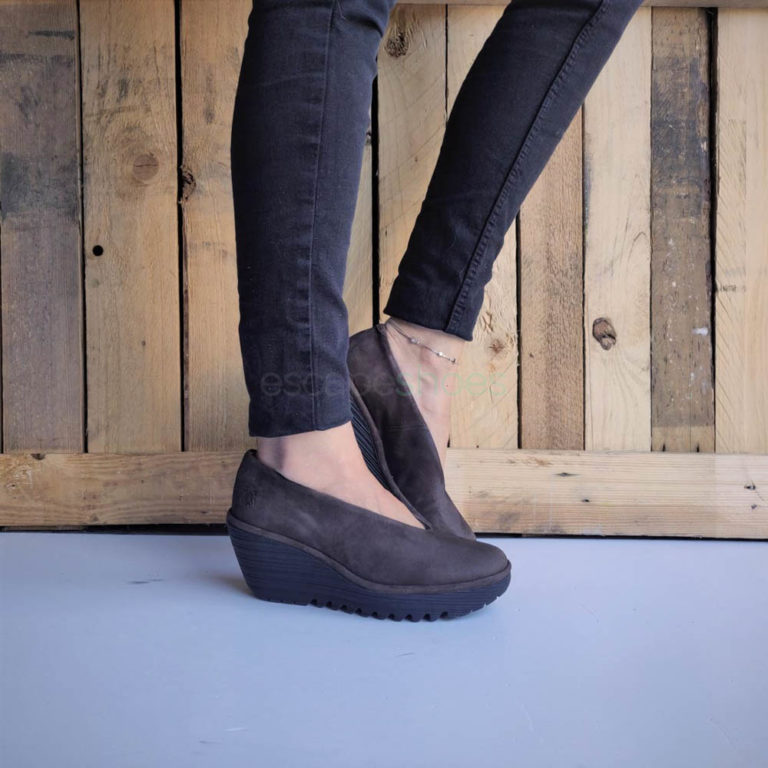 Sapatos FLY LONDON Yellow Yaz Ranch Pretos