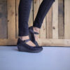 Sapatos FLY LONDON Yellow Yuko082 Castanhos