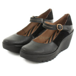 Shoes FLY LONDON Yellow Yuko082 Black