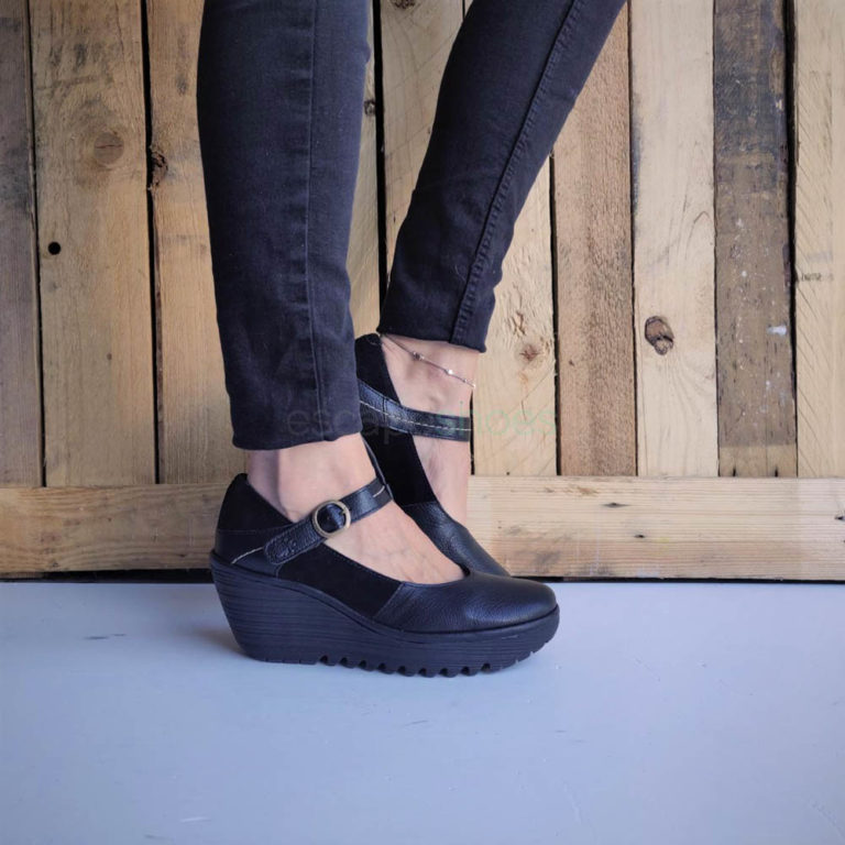 Sapatos FLY LONDON Yellow Yuko082 Pretos