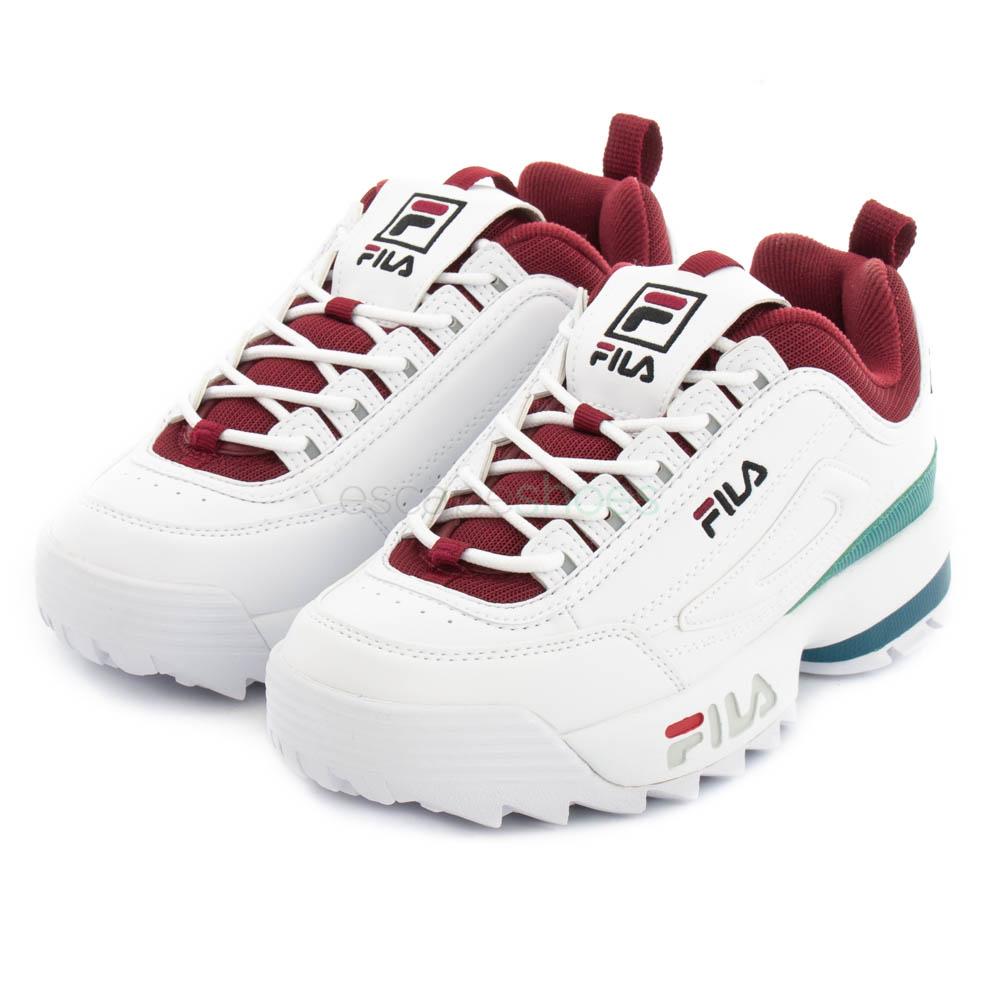 Zapatillas bajas | Disruptor Mesh W Calzado Burdeos | Fila Mujer