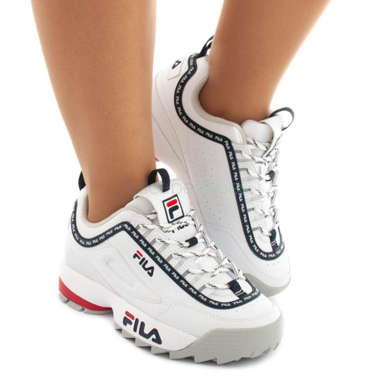 Sneakers FILA Disruptor Logo Low White