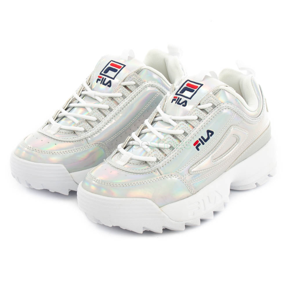 low price super specials best place Sneakers FILA Disruptor M Low Silver