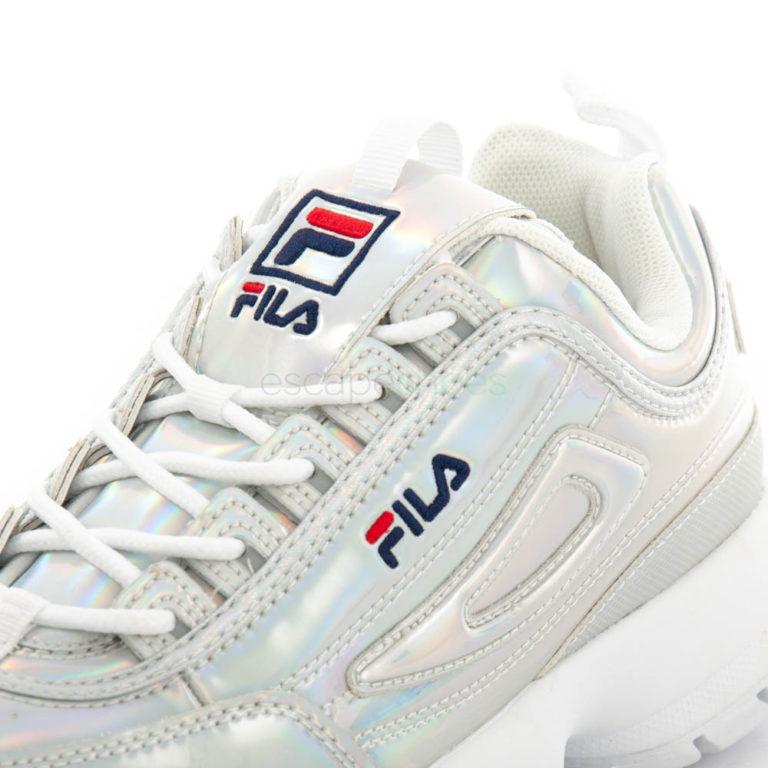 Sneakers FILA Disruptor M Low Silver