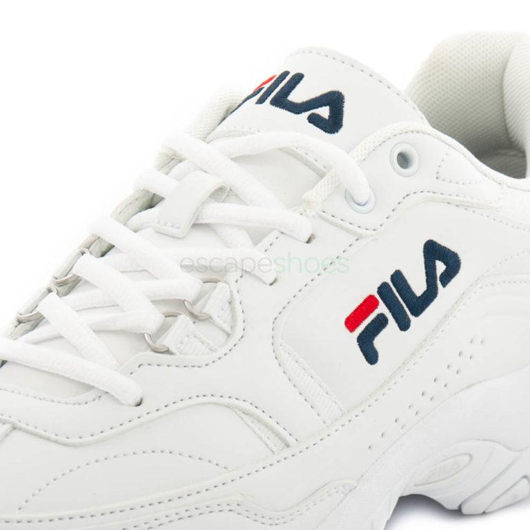 Tenis FILA Scelta Low Brancos