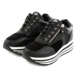 Sneakers FRANCESCOMILANO Zip Black