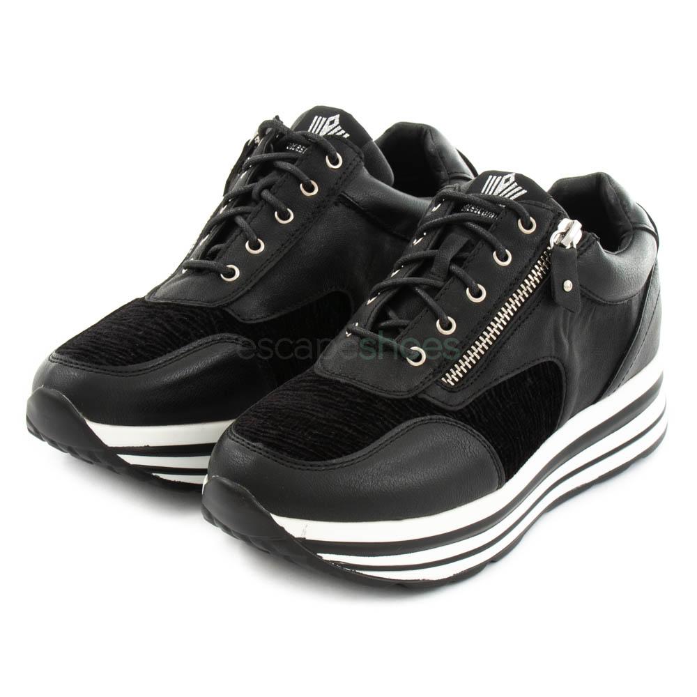 fuego Oso polar Productos lácteos  Sneakers FRANCESCOMILANO Zip Black