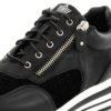 Sneakers FRANCESCOMILANO Zip Black