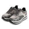 Sneakers FRANCESCOMILANO Metallized Glitter Grey