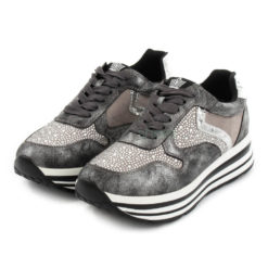 Sneakers FRANCESCOMILANO Metallized Glitter Grey