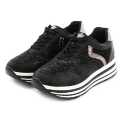 Sneakers FRANCESCOMILANO Metallized Glitter Black