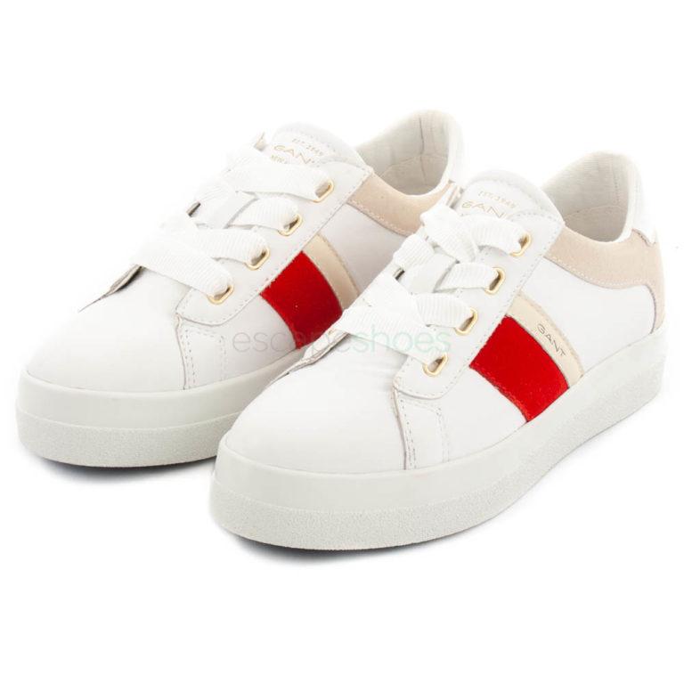Zapatillas GANT Aurora Bright Blancas