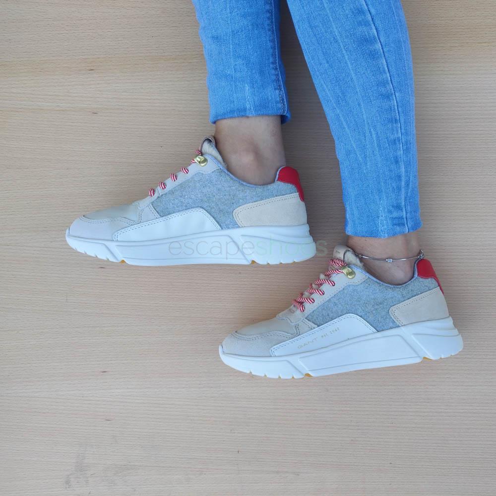 Sneakers GANT Madison Cream Grey