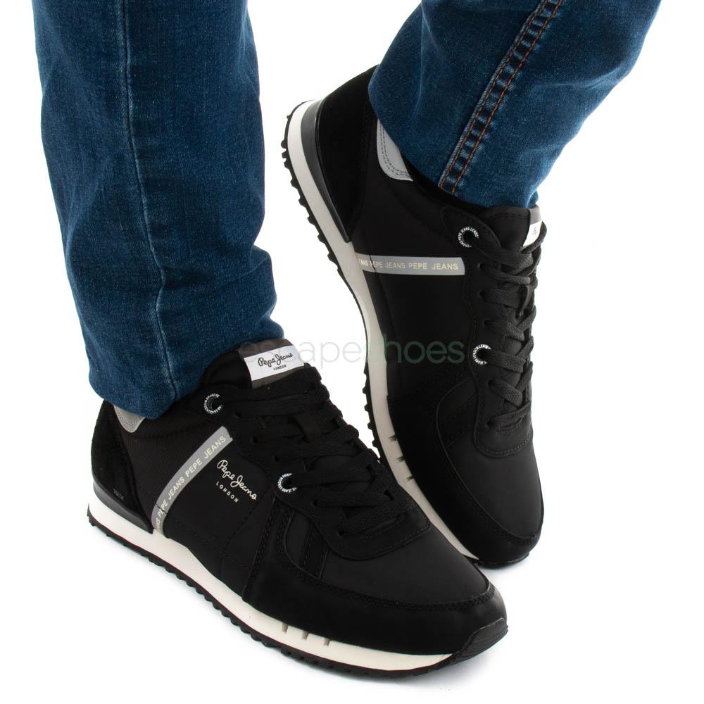 Sneakers PEPE JEANS Tinker Zero Black