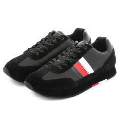 Tenis TOMMY HILFIGER Flag Runner Pretos