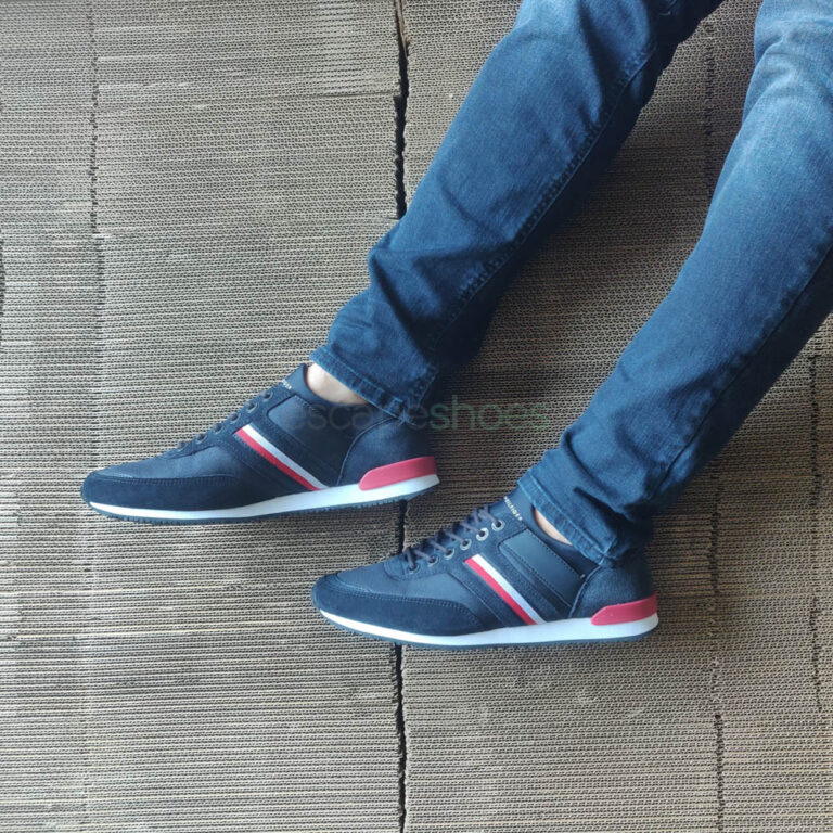 Ténis TOMMY HILFIGER Iconic Runner Azuis