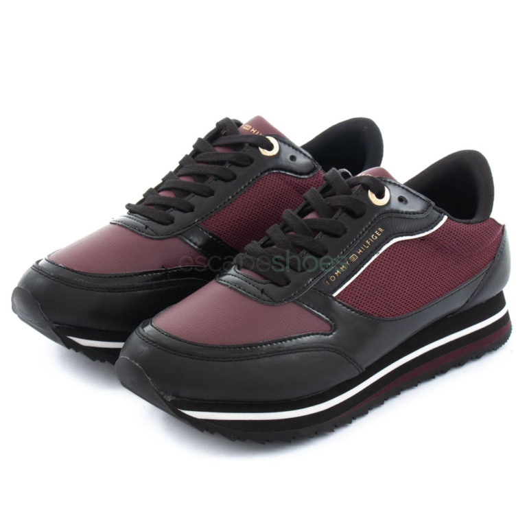 Sneakers TOMMY HILFIGER Retro Chocolate