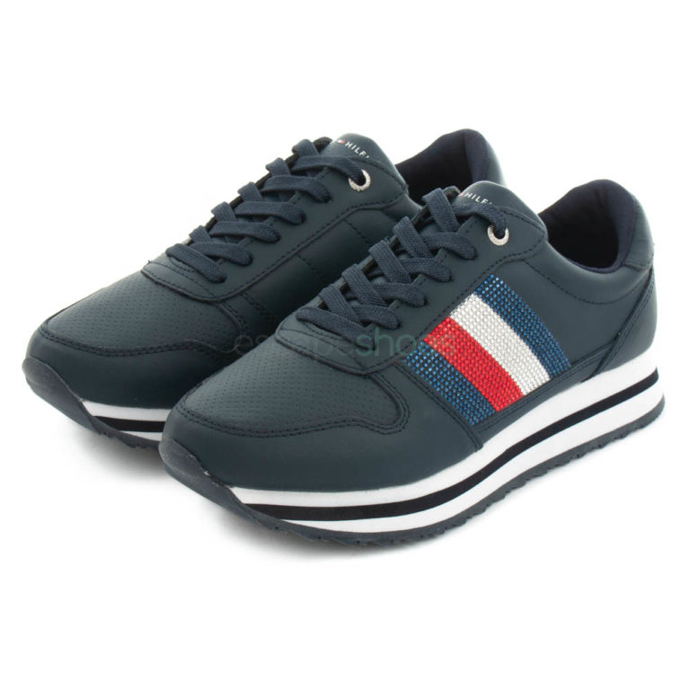 Sneakers TOMMY HILFIGER Retro Crystal Midnight