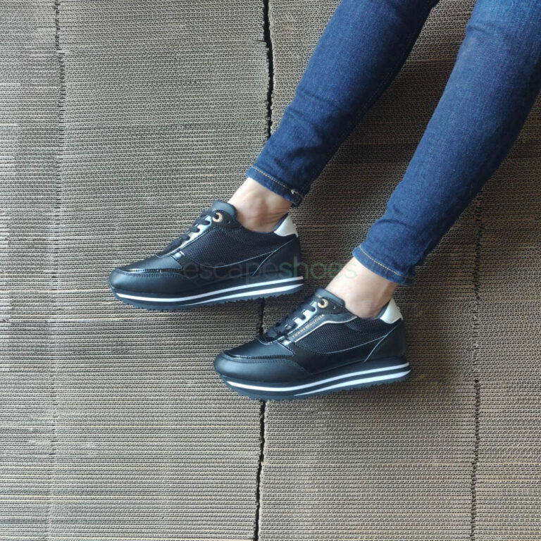 Sneakers TOMMY HILFIGER Retro Black