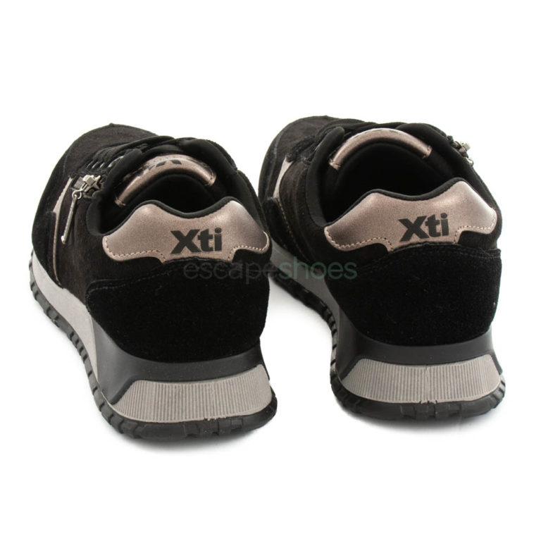 Zapatillas XTI Otra Cremallera Negras