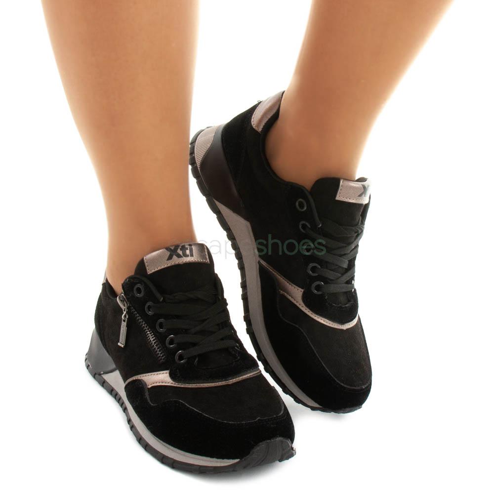 Sneakers XTI Otra Zip Black